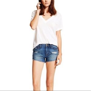 DL1961 Ivy high rise shorts
